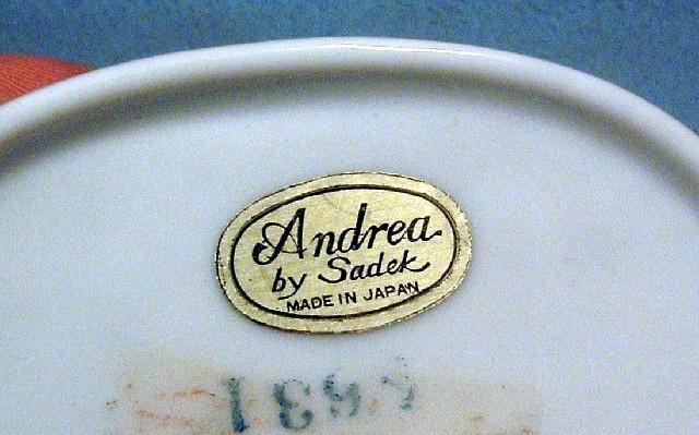White Porcelain Eagle Trinket / Jewelry Box - Vintage Andrea by Sadek