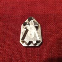 Doll/Child Cookie Cutter Tin Pin - UNIQUE Handmade By Skilled Tinsmith - Tinware - Kitchenware - Jewelry