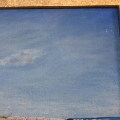 Seascape Painting By J. Howard Lightfoot - Signed & Dated 1962 - Star Island - Isles Of Shoals - Rare & Possibly Only Chance to Own A Painting By This Beloved Shoaler!