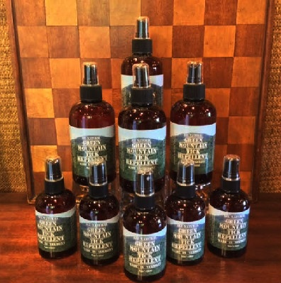 All Natural - Green Mountain Tick Repellent - Made In Vermont!