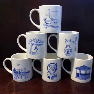 Star Island, Isles of Shoals Coffee Mugs from the 1990s