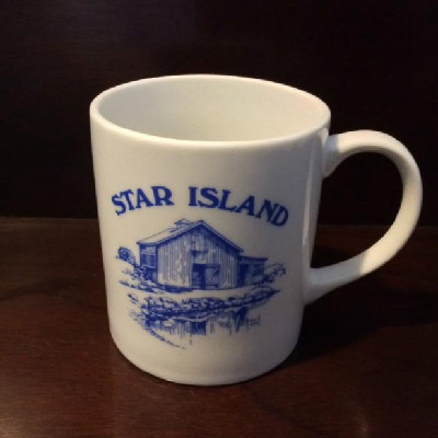 Star Island Mug - Art Barn - Isles of Shoals - 1990s