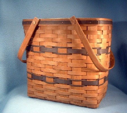 Longaberger Basket – 1991 – Magazine Basket - Knitting Basket