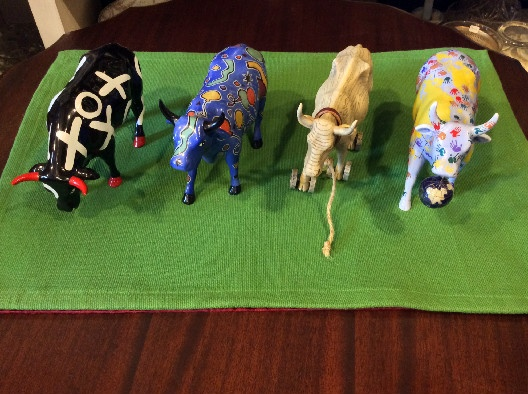 Westland Cow Parade Figurines