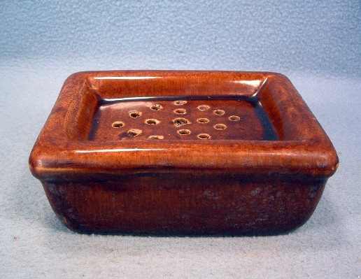 Bennington Pottery Rockingham Glazed Vintage Soap Dish