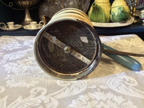 Miracle Electric Flour Sifter - Vintage 1930s - Motor Still Runs