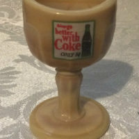 "Coke - Coca-Cola - Vintage Eyewash Cup - ""Things Go Better With Coke"" - Use – Display – Collect"