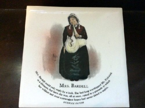 Mrs. Bardell - Pickwick Papers - Dickens Character Tiles