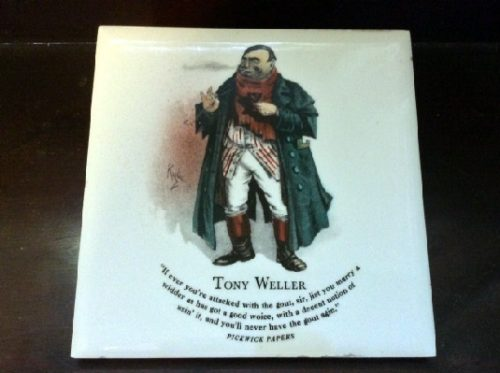 Tony Weller - Pickwick Papers - Dickens Character Tiles